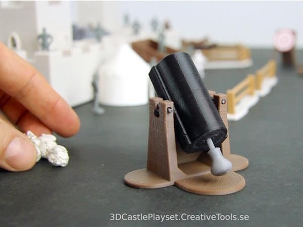 3D print your own modular medieval castle play-set