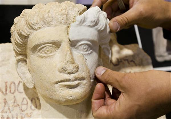 Preserving Syria's heritage: 3D printing helps restore Palmyra busts destroyed by ISIS